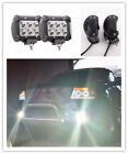 2pcs  18W CREE LED Work Light Bar Spot Offroad 4WD Fog ATV SUV Driving Lamps