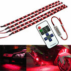 Boat Motorcycle Car SUV Wireless Remote Control 15 LED Light Strip Red