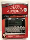 Franklin Advanced Dictionary & Thesaurus With Spell Correction MWD-1490 NEW