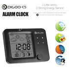 Digoo Touch Sensor Backlit Weather Forecast Station Temperature Humidity Meter