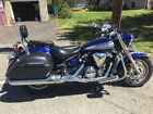 2009 Yamaha V Star  2009 Blue  Yamaha V Star XVS MC