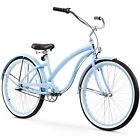 "26"" Firmstrong Bella Classic Three Speed Women's Beach Cruiser Bicycle, Baby"