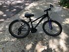 "Schwinn 24"" Aluminum 21 Speed Mountain Bike With Disc Brakes (Purple And black)"