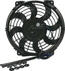 "Allstar Performance ALL30072 Electric Fan 11"" Curved Blade 925 CFM Black Plastic"