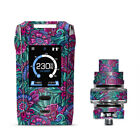 Skins Decals for Smok Species Kit Vape / Floral Flowers Retro