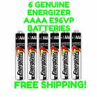6 Energizer AAAA Batteries EXP 2022+ Alkaline 1.5V Battery E96VP E96 Genuine