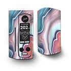 Skin Decal for Wismec Reuleaux RX Gen3 Dual Vape / Geode Stone Rock Swirl Mix