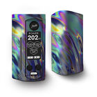 Skin Decal for Wismec Reuleaux RX Gen3 Dual Vape / Oil Slick Opal Colorful Resin