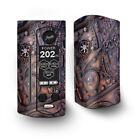 Skin Decal for Wismec Reuleaux RX Gen3 Dual Vape / Steampunk Metal Panel Vault
