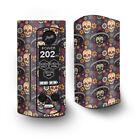 Skin Decal for Wismec Reuleaux RX Gen3 Dual Vape / Sugar Skulls Sombrero Day of