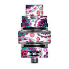 Skins Decals for Smok TFV8 Big Baby V2 Tank / Flowers Paisley Butterfly Mandala