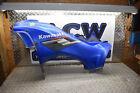 F5-8 LEFT BLUE SIDE TANK COVER 07 Kawasaki Brute Force 750 KVF ATV 4X4 FREE SHIP