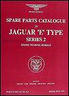 Jaguar XKE Parts Book 1969 1970 1971 Illustrated Master Catalog XK E Type