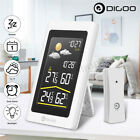 Digoo Wireless HD Digital In&Out Hygrometer Thermometer Weather Forecast
