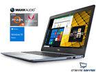 """Dell Inspiron 15.6"""" FHD Laptop, Ryzen 5 2500U, 4GB DDR4, 1TB HDD, W10H (Blue)"""