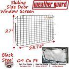 88026 Weather Guard Van Sliding Side Door Window Screen Chevy/GMC 1500/2500/3500