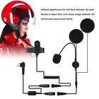 New Motorcycle Helmet Headset Earpiece Microphone PTT for Motorola Walkie Talkie