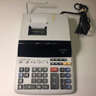 Sharp EL-1197PIII Heavy Duty Color Printing Calculator with Clock & Calendar