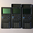 Three (3) Texas Instruments TI-82 Graphing Calculators Screen Issues Turns On