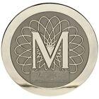 Marquis Boat Logo Emblem 8150490 | Medallion 8 Inch Nickel Polished