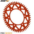 For KTM SX 125 2T 1996 RFX Pro Series Elite Rear Sprocket Orange 49T