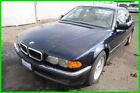 2000 BMW 7-Series iA 2000 Bmw 740iA Automatic 8 Cylinder NO RESERVE