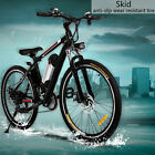 Aluminum Alloy 26' Electric Mountain Bike 21 Speed 36V 250W  Li Battery Bicycle