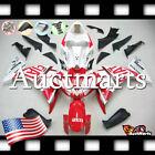 For Yamaha YZF-R1 2009-2011 Fairing Bodywork ABS Plastic Kit Red White 4j8 XS
