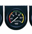 Auto Meter Autogage Vacuum Vac Gauge with Panel 2-1/16 in. (52mm) 30 in. Hg.