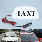 1pc White LED Taxi Cab Top Sign Light Lamp Roof Magnetic DC 12V Taxi Hire Light