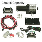 NEW WINCH MOTOR 2500LB CAPACITY FITS POLARIS HONDA BOMBARDIER ATV UTV WIN0013