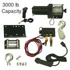 NEW WINCH MOTOR KIT WITH REMOTE 3000LB CAPACITY FIT YAMAHA HONDA ATV UTV WIN0011