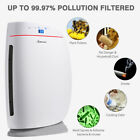 Powerful Air Purifier Cleaner HEPA Filter to Remove Odor Dust Mold Smoke