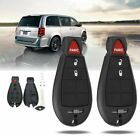 For Dodge Grand Caravan Journey 2008-2014 Remote Key Shell Fob Case 3BTN