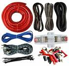 Cable Car Audio Kit 4 Gauge Amp Amplifier Install RCA Subwoofer Sub Wiring New