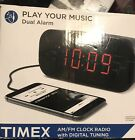 Timex Play Your Music Dual Alarm