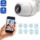 US Plug Waterproof HD 1080P IR Night Vision 180 Degree Fisheye AHD Cam Camera