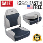 Wise 8WD588PLS Series Standard High Back Fishing Boat Seat Grey/Blue NEW