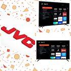 """Jvc 43"""" Class 4K HDTV Roku Smart TV Ultra High Resolution Television Netflix NEW"""