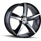 Detroit Wheels 3272-8812B35 TOUREN 3272 GLOSS BLACK/MACHINED FACE 18x8 5-120 35m