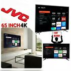 "JVC 65"" inch Class 4K LED Roku Smart TV 3 HDMI Ultra HD 2160P HDTV Netflix Hulu"